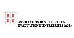 Logo Association des Experts en Evaluation d'entreprises (A3E)