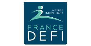 Logo France Défi - Inkipio